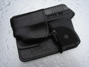 Ruger LCP with Laser – Uncle George's Wallet Holsters